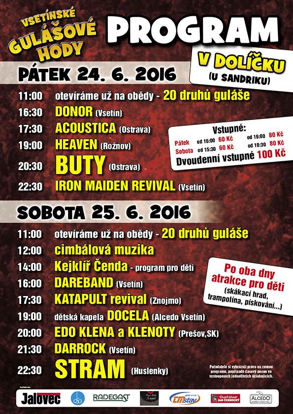 Gulášové hody 24 - 25.6.2016