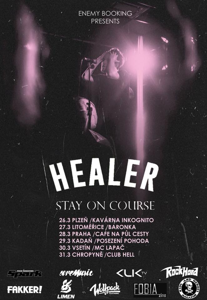 Healer, Stay On Course, Meltdown, Old Coccots